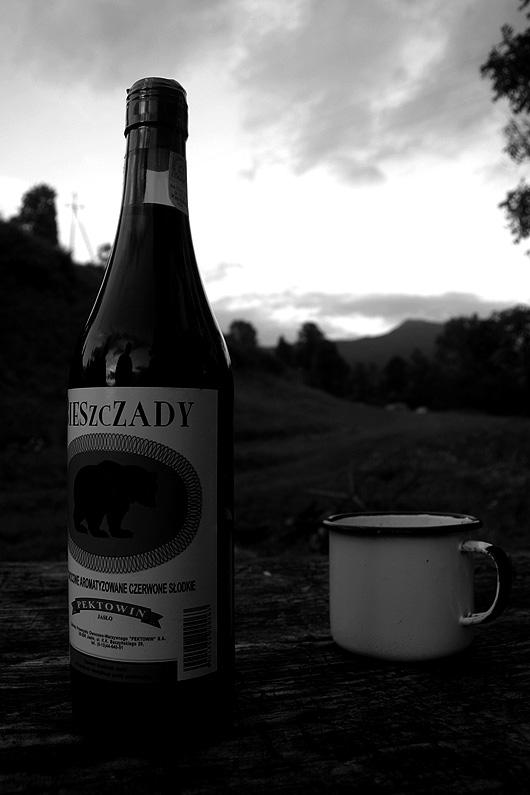 Bieszczady - Wino